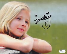 JACKIE EVANCHO SIGNED 8X10 PHOTO W/PROOF JSA AUTHENTICATION # 1