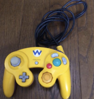 Club Nintendo Limited GameCube Controller wario Japan Super Rare From Japan Exc+
