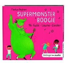 SUPERMONSTER-BOOGIE.16 GUTE LAUNE-LIEDER  CD NEU