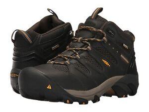 Man's Shoes Keen Utility Lansing Mid Waterproof Steel Toe