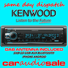 Kenwood kdc-x7200dab cd mp3 bluetooth USB Apple Android Car Van stéréo + Aerial