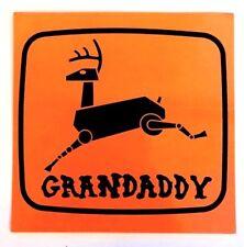 GRANDADDY sophtware slump official ORIGINAL PROMO STICKER (2000) coldplay spoon