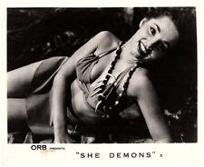 She Demons 1958 original 8x10 lobby card Irish McCalla sexy pose