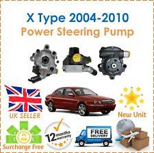 For Jaguar X Type X400 2.0D 2.2D 2004-2010 Power Steering Pump 4X4Q-3A674-BA New