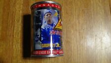 1997 Pinnacle King Griffey Jr. Baseball Cards - FIRST EVER BASEBALL CARDS IN CAN