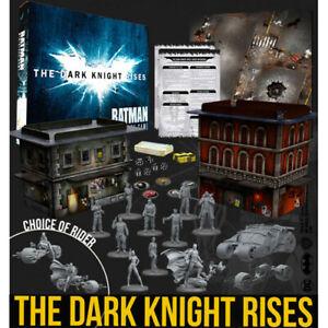 NEW Knight Models Batman Mini Game Dark Knight Rises Game Box