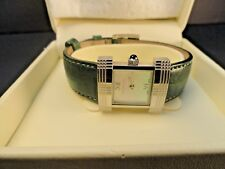 f959e6b29223 Ladies Used Burberry Watch with Green Leather Band