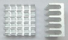 2x Aluminium Kühlkörper 22mm x 22mm x 10mm
