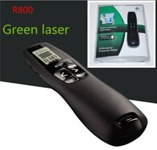 Logitech R800 Remote Control Page Turning Green Laser Pointers Presentation