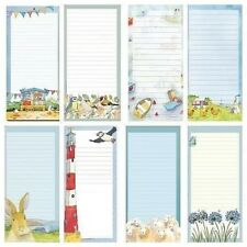 Emma Ball Magnetic Notepad Lined Shopping List Various Designs Memo Note Pad