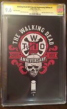 WALKING DEAD 2014 SPECIAL ANNIVERSARY EDITION 1 CGC 9.6 SS KIRKMAN BLACK FRIDAY