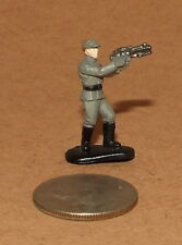 Very Small Micro Machine Star Wars Imperial Officer with Weapon #3