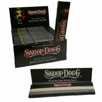 Snoop Dog Kingsize Rolling Cigarette Tobacco Papers Booklets - Multi Listing UK