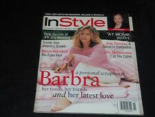 1996 NOVEMBER IN STYLE MAGAZINE - BARBRA STREISAND COVER - FASHION - J 3087