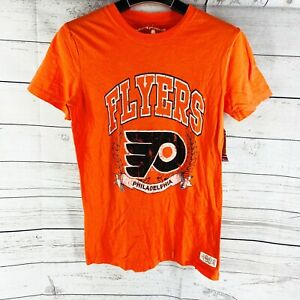 Mitchell & Ness Women's NHL Philadelphia Flyers Vintage T-Shirt S, L