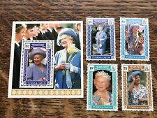 1990 TURKS & CAICOS Queen Mother Stamps MNH