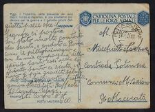 POSTA MILITARE 1943 Franchigia da PM 600 a Monte Cassino (FMH)