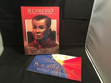 Supremo (Andres Bonifacio)-FIRST EDITION / Bandila (Philippine flag) 2 Books Set