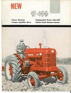 IH International W400 Wheatland Tractor Sales Brochure TA Remotes IPTO PS W 400