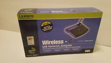 Linksys Wireless-B USB Network Adapter 802.11b - 2.4GHz *In Box*