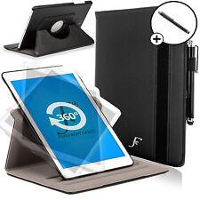 In Pelle Nera Rotante Smart Custodia Cover Samsung Galaxy Tab S2 9.7 SM-T810