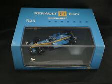 """MINICHAMPS 1/43 RENAULT F1 TEAM R25 TELEFONICA #6 GIANCARLO """"FISICO"""" FISICHELLA"""