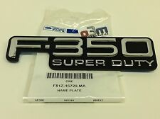 1999-2004 Ford F-350 Right or Left Front Fender F-350 Super Duty Emblem new OEM