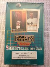 1990-91 Skybox BASKETBALL (Series 2) 36 Count WAX FOIL PACK BOX