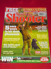 SPORTING SHOOTER - DECOYING WIGEON - Dec 2006 # 38