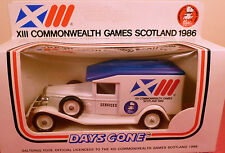 COMMONWEALTH GAMES SCOTLAND 1986: LLEDO DAYS GONE: MINT BOXED DIECAST MODEL