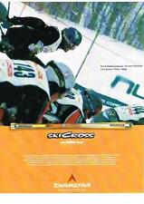 PUBLICITE ADVERTISING 2001 DYNASTAR  SKI CROSS  eric thomas ANDERSON