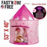 Princess Castle Cute Playhouse Children Girls Kids Play Tent Toys For 3-10 Years