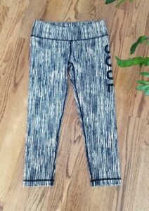 Moyenne Soulcycle Running Athletic Yoga Gym Leggings Cropped Pants Womens Size M