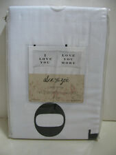 Alex and Zoe Standard PillowCases - Set of 2 - I LOVE YOU / LOVE YOU MORE - NEW
