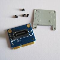 mSATA Mini PCI-e SATA SSD slot To 7pin SATA HDD Converter Card Adapter + Bracket