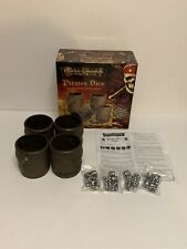 DISNEY Pirates of the Caribbean Pirates Dice Game AT WORLDS END COMPLETE 2007