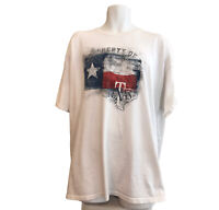 Property of Texas Men's 2XL TShirt Red White Blue Texas Flag Shirt Heavy Cotton