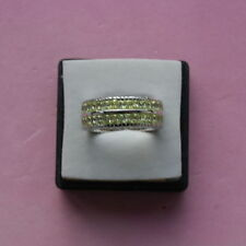Unbranded Sterling Silver Topaz Band Fine Rings