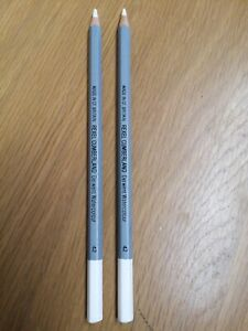 Two watercolour pencils (Chinese White) ~Brand New (Unused)