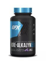 EFX Sports Kre-Alkalyn - 100% pH-Correct Creatine Monohydrate - 120 Caps - 06/25