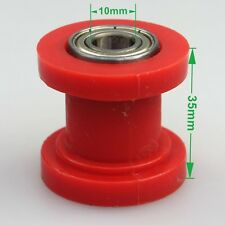 10mm guide wheel id chain roller tensioner dirt bike pit bike Red