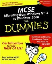 MCSE Migrating from Windows NT 4 to Windows 2000 For Dummies (For Dummies