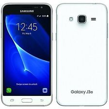 "Brand New Samsung Galaxy J3 2016 SM-J320F White 5"" LTE 8GB 4G Factory Unlocked"