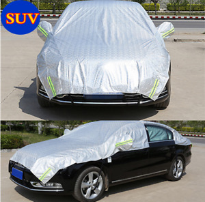 Car Half-body Cover Waterproof Offraod SUV Sun Proof Shade Rain Protection Cover