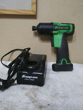 "Snap On Cordless Impact Driver 1/4"" Hex CT761AGQC 14.4v W/ Battery, Charger"