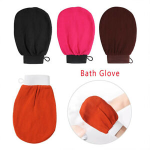 New Exfoliating Spa Bath Glove Extra Strength - Soap Clean Hygiene Scrubber Mitt