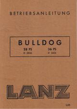 Lanz Bulldog Schild Motorhaube blau//silber Traktor D1616 D2016 D2416 D2816