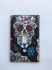 Sugar Skull design light switch plate cover