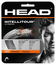 HEAD intellitour Hybrid 16 / 1.30 mm ORO / NATURALE Tennis Stringa Set