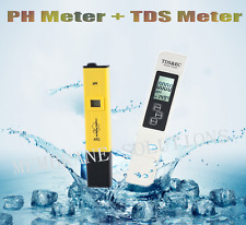 Tds Water Tester Meter +Ph Meter for Hydroponic Pool Fish Soil Ph Testing